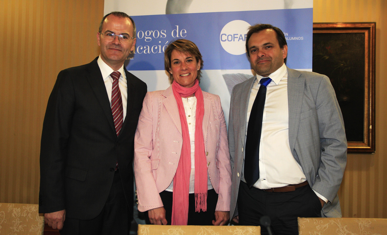 El Conselleiro de Educación de Galicia en el 14 Diálogo de Educación de Cofapa